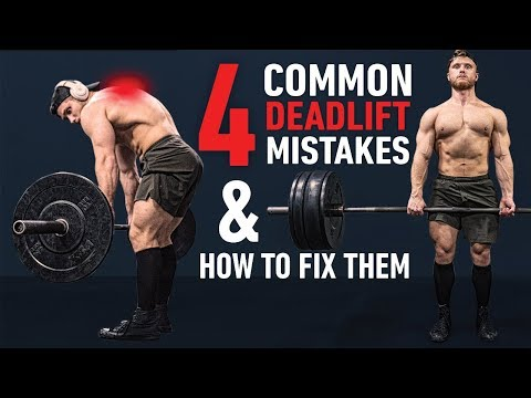 The 4 Most Common Deadlift Errors (& How To Fix Them)