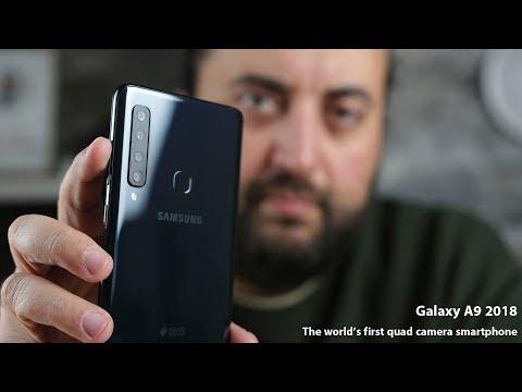 Samsung A9 2018   خمس مزايا وخمس كاميرات