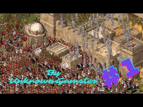 Lets Play Stronghold Crusader Extreme || Gameplay #1 || Unknown Gamster |