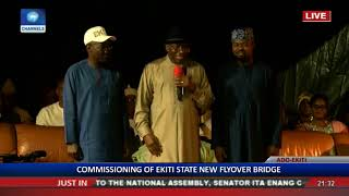 Goodluck Jonathan Commends Fayose's Courage, Leadership Qualities