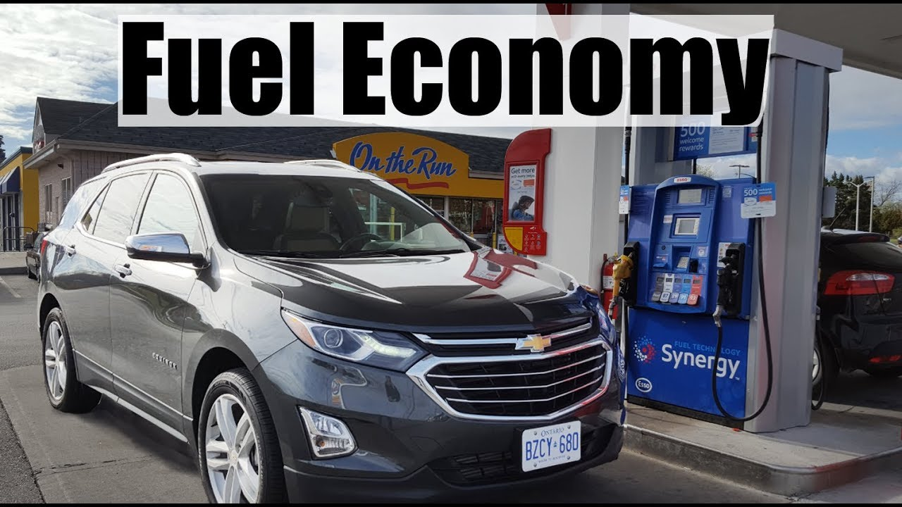 2018 Chevrolet Equinox Fuel Economy Mpg Review Fill Up Costs Youtube