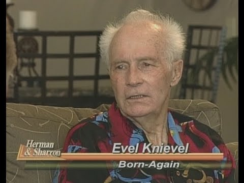 Evel Knievel  - A Believer in Jesus Christ - Interview by Herman Bailey