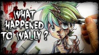 What Happened To Wally? Pokemon Creepypasta + Drawing (Horror Story)