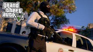 Die POLIZEI VERFOLGT uns! 😱 - GTA 5 Real Life Online