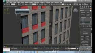 3ds Max Tutorial | Low Poly Building for Complex Scenes + Building Texture