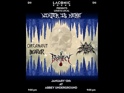 "1-12-18 PROPHECY - ""Ebolic Regurgitation"" LIVE!"