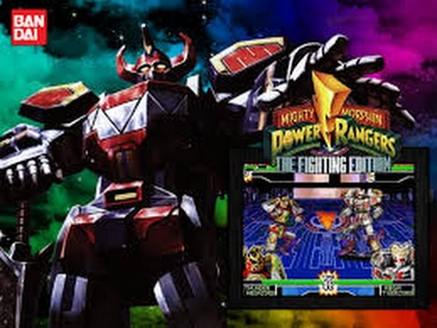 power rangers fighting edition