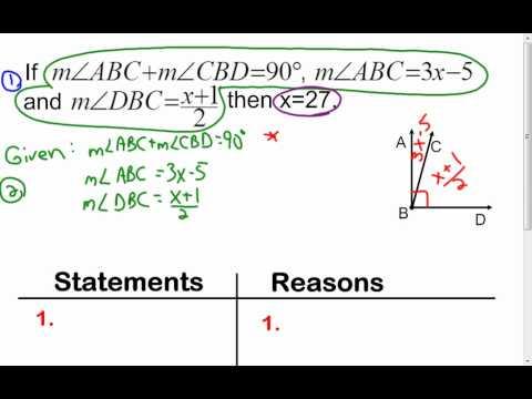 2 6 Algebraic Proof Examples