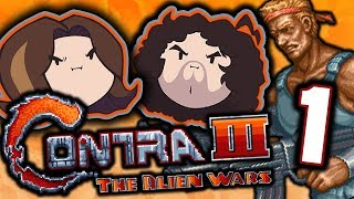 Contra 3: Too Hard - PART 1 - Game Grumps