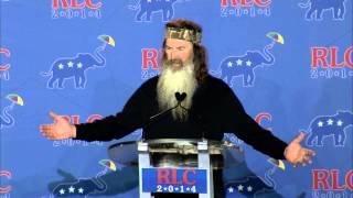 Phil Robertson - Republican Leadership Conference 2014
