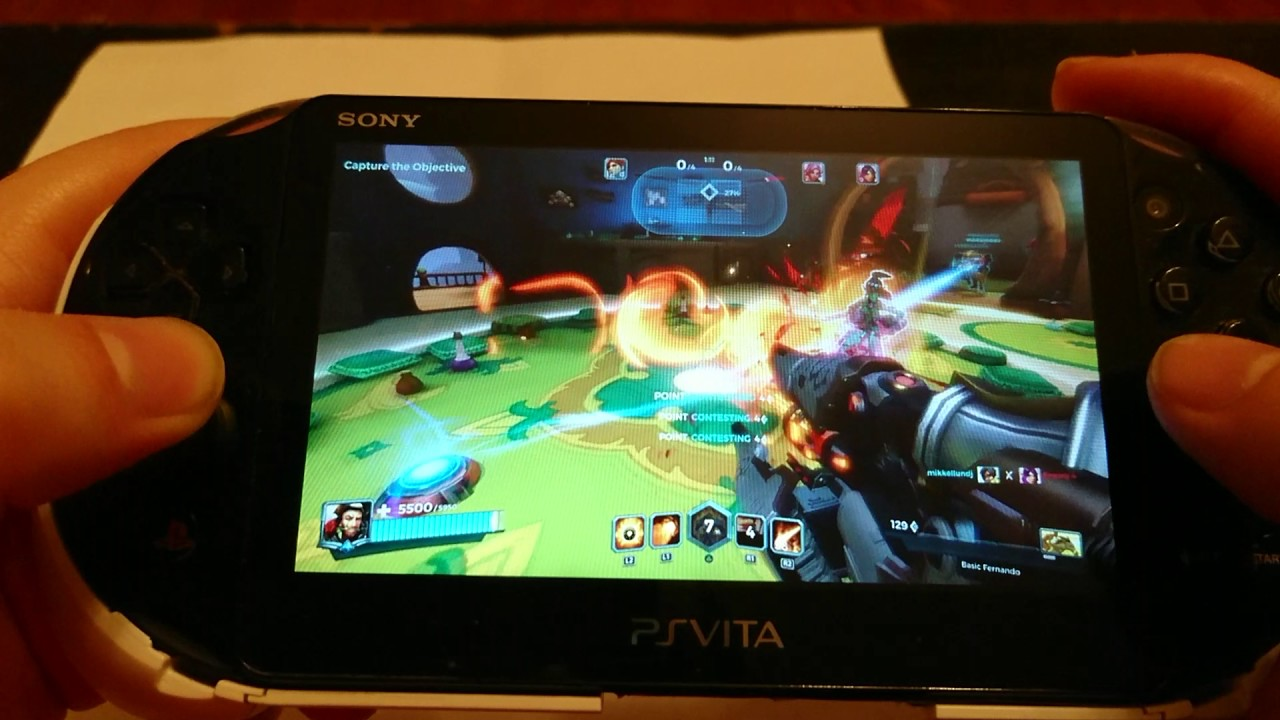 paladins ps vita remote play - fortnite para ps vita