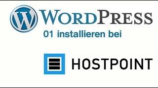 01 WP bei Hostpoint einrichten