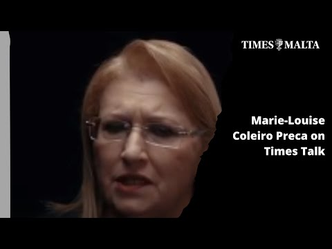 Marie-Louise Coleiro Preca on Times Talk