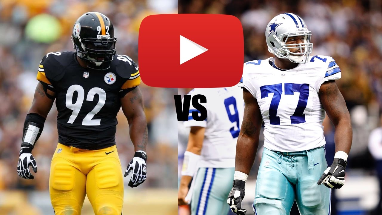 James Harrison vs Tyron Smith Full Game Highlights HD
