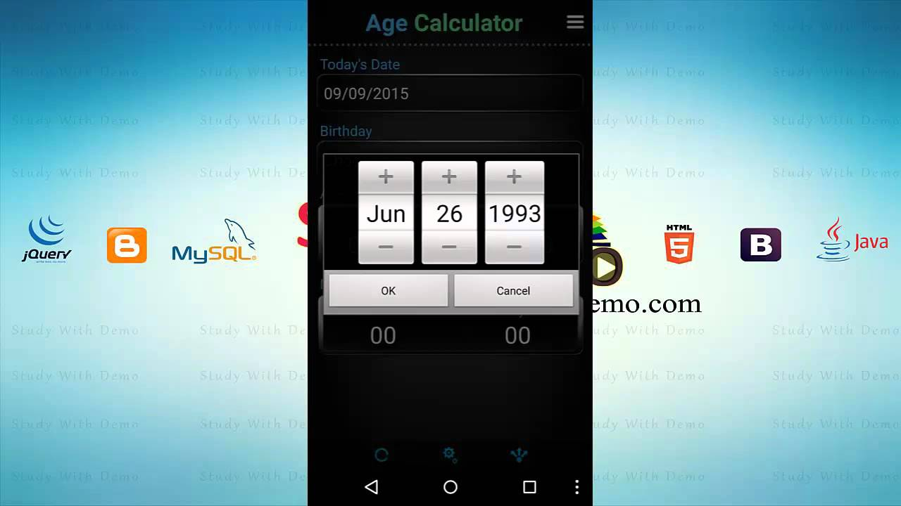 How to calculate age in excel from birthday.