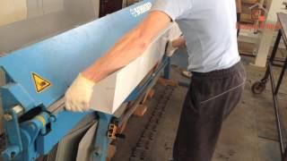Смотреть видео парапетная крышка из оцинкованной стали
