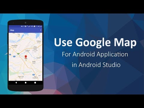 How To Use Google Map In Android Studio