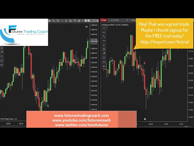 032520 -- Daily Market Review ES CL NQ - Live Futures Trading Call Room