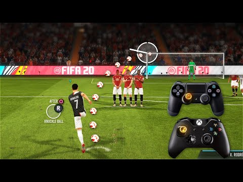 FIFA 20 ALL FREE KICKS TUTORIAL   TRIVELA, KNUCKLEBALL,POWER, RABONA!