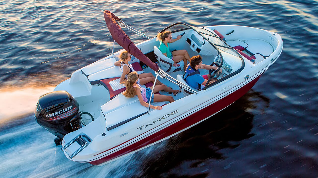 TAHOE Boats 2016 400 TS Sterndrive And 450 Outboard Runabout