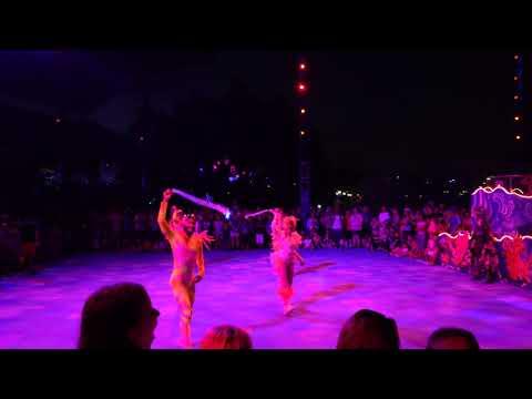 """Inferno Time"" Club Sea Glow Electric Ocean at Sea World Orlando"