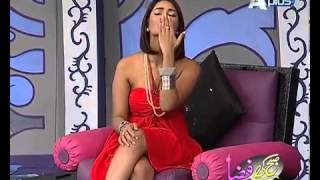 Mathira doing vulgar acts in the morning show name subh ki fiza on APlus tv channel