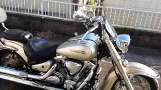 YAMAHA xv1600 wildstar バイク乗り換えました。