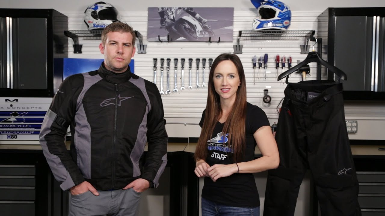 Alpinestars Amok Air Drystar Jacket Review | Motorcycle Superstore