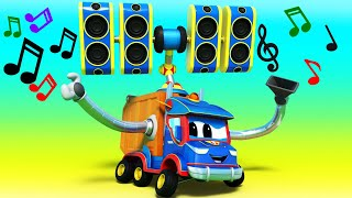 Truck videos for kids -  RIO CARNIVAL : Super VACCUUM and te MUSICAL MYSTERY - Super Truck in Car...