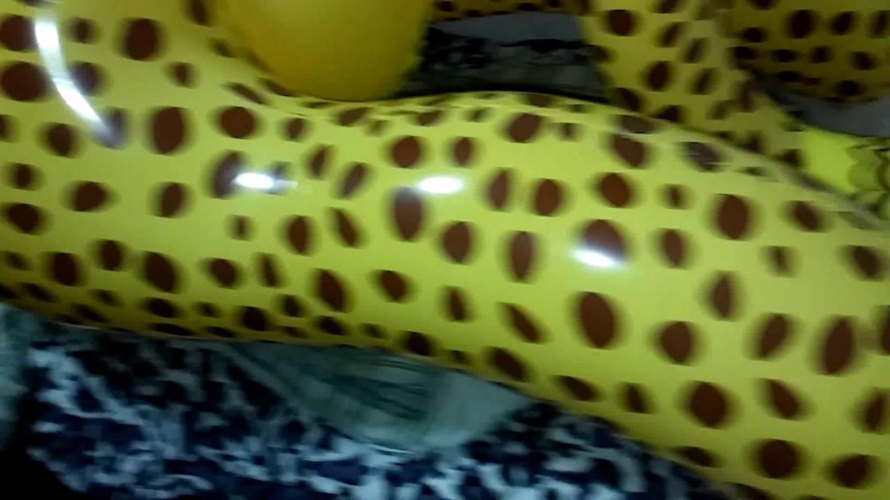 Genial My New Inflatable Cheetah   YouTube