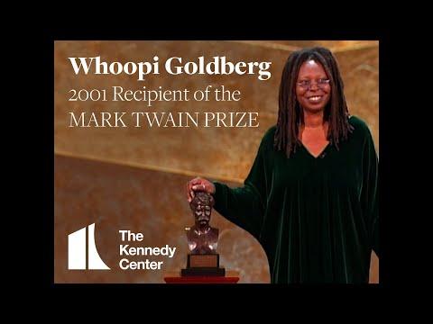 Whoopi Goldberg Acceptance Speech | 2001 Mark Twain Prize