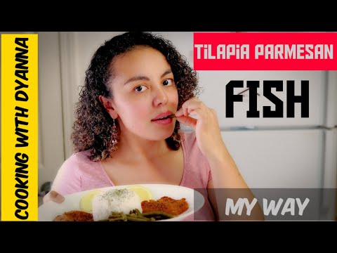 Tilapia Fish With Parmesan Cheese