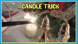 COOL CANDLE FLAME TRICK!