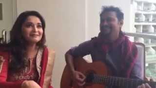 Madhuri Dixit l Singing song l New Latest video l 2015