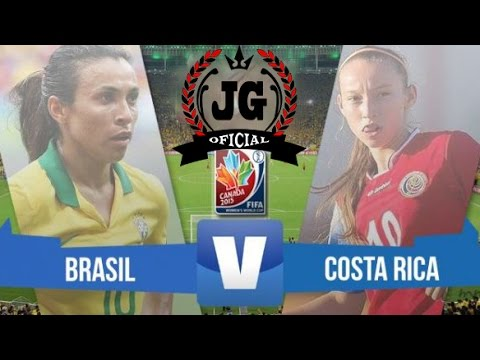 brasil x costa rica ao vivo copa do mundo feminino 2015