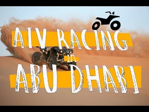 TOP GEAR ATV Racing in Abu Dhabi!