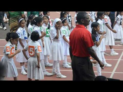 8  x 75 Girls Relay , ISM Primary Annual Sports Day 2016 - 2017