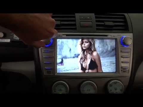 Light In The Box 2 Din DVD Navigation Bluetooth Midea System For Toyota Camry