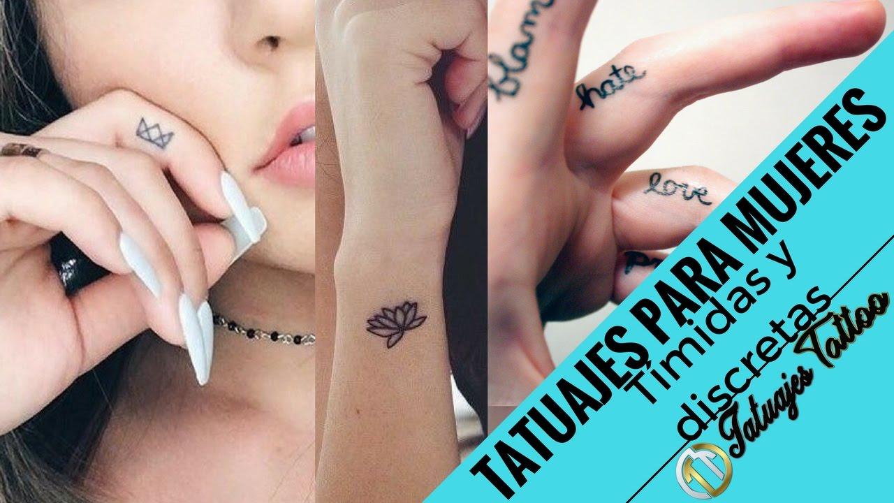 Tatuajes Pequeños Para Mujeres Tímidas De Carácter Fuerte Y