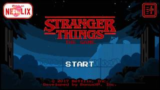 Stranger Things: The Game// I finally got eleven