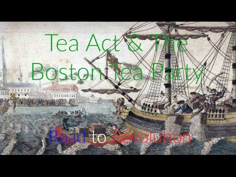 tea act the boston tea party road to revolution youtube. Black Bedroom Furniture Sets. Home Design Ideas