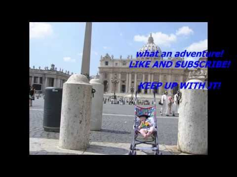 JT'S TRAVEL ARCHIVES IN ROME ITALY PT 2 SISTINE CHAPEL VATICAN travel with baby!