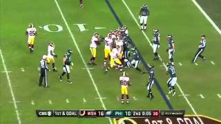 Kirk Cousins Takes Knee with 6 Seconds Left Instead Of Spiking Football - Eagles vs Redskins