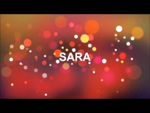 grattis sara GRATTIS PÅ FÖDELSEDAGEN SARA   YouTube grattis sara