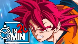 DRAGON BALL SUPER IN 20 MINUTEN [TEIL 1]