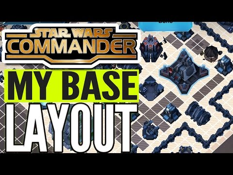 Best base layout level 5-6 for Star Wars Commander