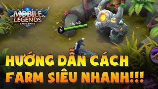 Mobile Legends   Hướng dẫn cách FARM SIÊU NHANH! Rừng không phải là 1 VỊ TRÍ!!   Tốp Mỡ Gaming