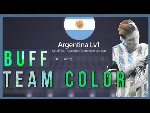 KÍCH HOẠT TEAM COLOR TĂNG CHỈ SỐ CHO ĐỘI HÌNH - [FO4KOREA] FIFA ONLINE 4 GARENA