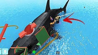 GOOD LUCK with SHARKS l SHARK BITE ROBLOX