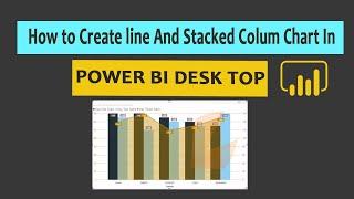 كيفية إنشاء خط عمودي مكدس الرسم البياني في السلطة bi سطح المكتب. الجزء (18)
